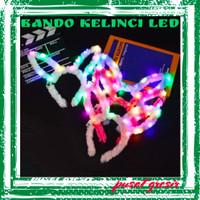 Bando Kelinci Led / Bando Kelinci Nyala / Bando Party New Year