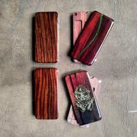 Panel BackDoor real Wood resin Wood for hexohm V3 oframe