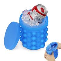Ice Cube Maker 3D Silicone Mold Ice Genie Pencetak Es Batu