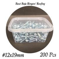 Baut Baja Ringan/ Roofing #12x19mm Aplus