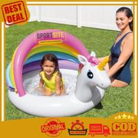 Kolam Renang Anak Unicorn Baby Pool Rainbow Multi Colour Pelangi