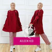 MK - Set Aileen / baju muslim anak perempuan usia 11-12 tahun