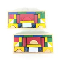Puzzle Kayu Susun Balok Mainan Montessori Anak Mainan Edukasi Anak