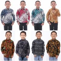 Baju Batik Anak Kemeja Batik Anak Lengan Panjang Laki Laki Umur 2-10
