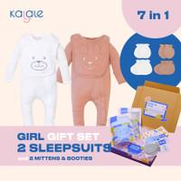 Hampers Newborn / Kado Lahiran Bayi - Kalale - Girl - Sleepsuit