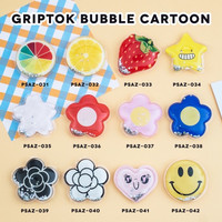 Pop socket bubble cartoon / griptok murah