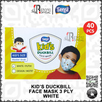 SENSI KIDS DUCKBILL DUCK BILL KID FACE MASK 3 PLY MASKER WAJAH ANAK