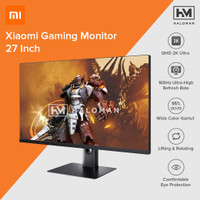 Xiaomi Gaming Monitor 1440P 165Hz HDR AMD Free-Sync 27 Inch