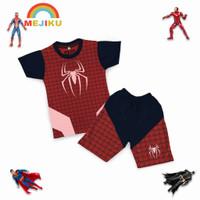 SETELAN KAOS ANAK SUPERHERO SPIDERMAN Little Kids / KAOS ANAK PR - 2
