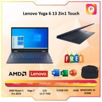 Lenovo Yoga 6 13 2in1 Touch FABRIC Ryzen 5 Pro 4650 16GB 512ssd -54ID