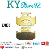Kampas Rem Belakang Elig EM100 Yamaha YZF-R15 V3 & New Vixion V3