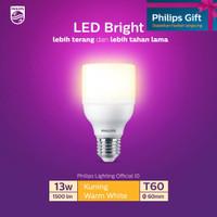 Philips Lampu LED Bright 13W E27 3000K Kuning