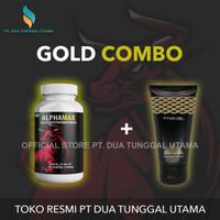 Titan Gel Gold + Alphamax Kapsul - Gold Combo