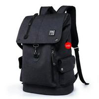 tas punggung pria tas travel lokal tas sekolah tas murah - Hitam