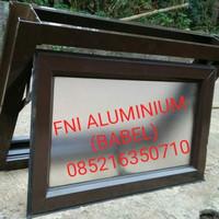 Jendela Aluminium ( Jendela Casement )40cm X 60cm