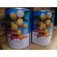 Harvest Buah Longan in Syrup 565 gr / Buah Kelengkeng Kaleng