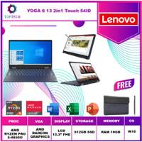 LENOVO YOGA 6 13ARE TOUCH Ryzen 5 PRO 4650U 16GB 512ssd W10 13.3 54ID