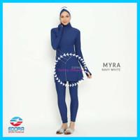 Baju Renang Wanita Muslim Muslimah Premium Edora Myra