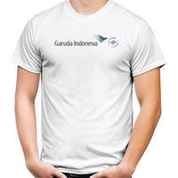 Baju Kaos T-Shirt Penerbangan GARUDA INDONESIA   MASKAPAI   PESAWAT