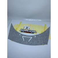 Stiker Striping Batok Fairing Atas Ninja Rr old Zx Original