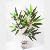 Daun Bambu Tangkai Hias Dekorasi Wedding Artificial Bunga Plastik