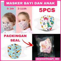 Masker anak / masker anak n95 / masker kain anak n95 kn95 - RAINBOW, BAYI