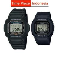 Casio Couple G-Shock & Baby-G G-5600E-1DR & BGD-560-1DR Original