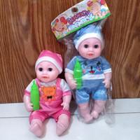 mainan boneka lovely baby kantong/mainan anak