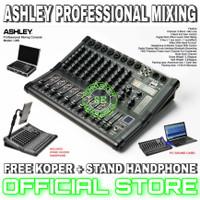 mixer ashley 8 channel original ashley lm8 bluetooth usb pc