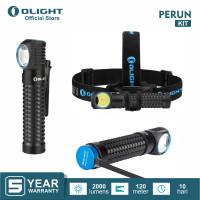 OLIGHT Perun Black Kit Flashlight Senter LED Multifungsi Headlamp