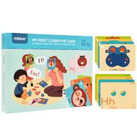 Mideer - My First Cognitive Card - Permainan Montessori - MD2065-037