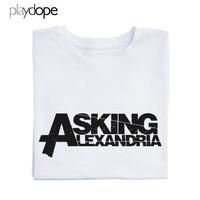 PLAYDOPE - Kaos Distro Band ASKING ALEXANDRIA T shirt Premium