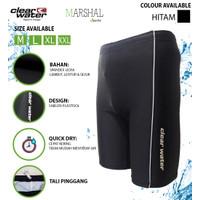 Clear Water Celana Renang Diving Pria Polos MS005 - Biru, M