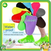 cover sepatu anti air hujan/pelindung sepatu waterproof bahan tebal
