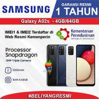 SAMSUNG Galaxy A02s (3/32gb) (4/64 GB) - Garansi RESMI