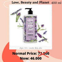 Love Beauty and Planet Argan Oil Lavender Body Lotion