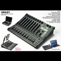 MIXER ASHLEY LM8/LM 8 DSP 320 ( 8 CHANNEL ) USB,BLUETOOTH,RECORDING