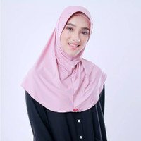 Bergo Zoya Marsha Hb Casual Heiq Hijab Jilbab Kerudung Instan Polos