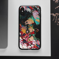case hp glass case high grade case kaca gambar anime naruto semua type - 9