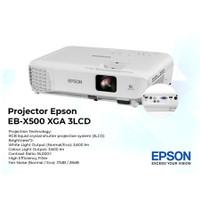 Projector EPSON EB X500 XGA 3LCD 3600 Lumens (USB / VGA / HDMI / RCA)