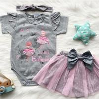 baju bayi perempuan 0 6 bulan Newbron jumper romper Perempuan cewek