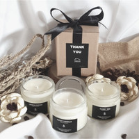 lilin aromaterapi scented candle soy wax 150ml