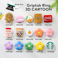 Griptok ring / pop socket karakter cartoon