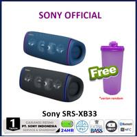 Sony SRS-XB33 Extra Bass Portable Bluetooth Speaker SRS XB 33 SRSXB33 - Biru
