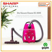 Sharp Vacuum Cleaner EC 8305 Low Watt - Penyedot Debu ORIGINAL