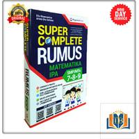 BUKU SMP SUPER COMPLETE M-IPA SMP/MTS KELAS 7-8-9 RUMUS SAKU