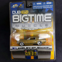 Jada 67 Shelby GT-500KR Dub City Big Time Muscle Diecast Gold