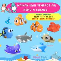 Mainan Mandi Anak Bayi Semprot Air Ikan Nemo and Friends