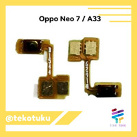 Flexible Tombol On Off Oppo Neo 7 A33w A1603 Original