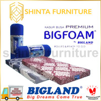 Kasur Busa Premium BIgfoam Kasur Lipat/ Kasur Busa Bigland Tebal 20 cm